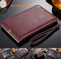 High Quality Leather Case For iPad Mini 4 Business Wallet Stand Smart Handheld Case For iPad Mini 4 With Sleep/Wake Functions