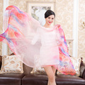 100% Real Silk Scarf Luxury Brand Women's Fashion Pure Silk Scarf Ladies Casual Shawls and Scarves Beach Towel for Women Bandana