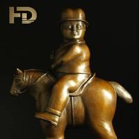 lifelike bronze nobility craft Botero copper sculpture fashion famous sculpture decoration abstract sculpture ds 288