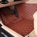 Car floor mats for audi q5, car mat black beige  gray brown
