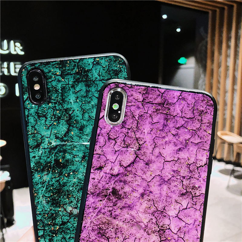 Marble Gold Foil Soft TPU Case For Samsung Galaxy S8 S9 Plus Silicone Cover For Samsung Note 9 Phone cases For Galaxy Note 8 in Fitted Cases from Cellphones Telecommunications