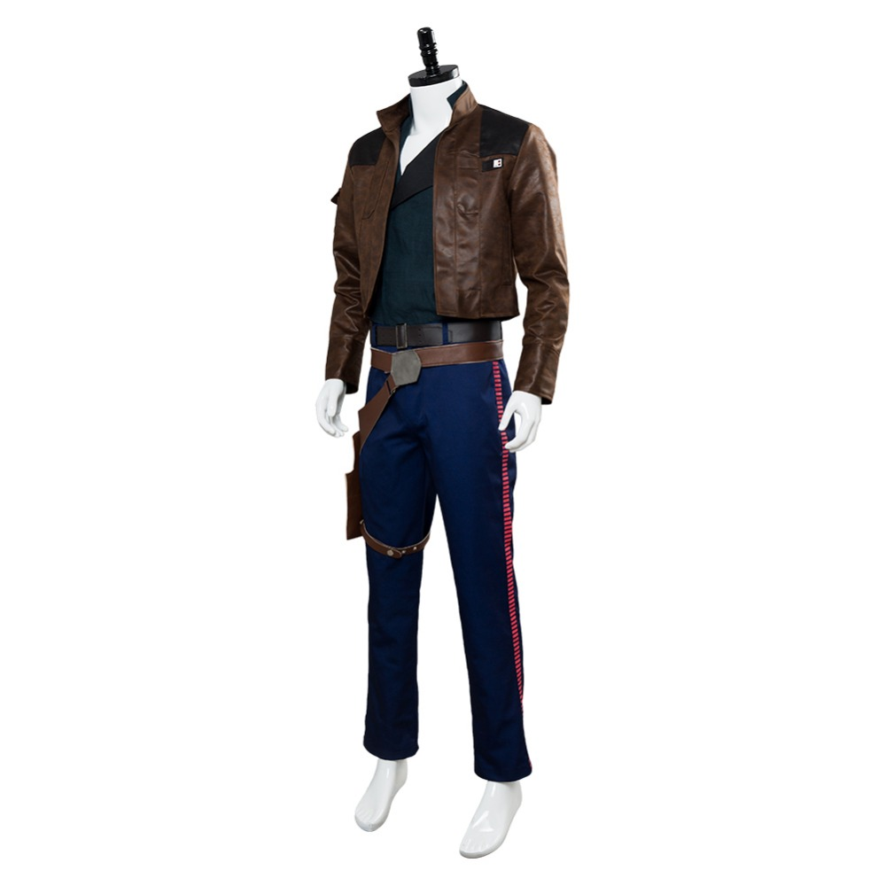 Solo: A Star Wars Story Han Solo Cosplay Costume Outfit Adult Men Halloween Carnival Costumes