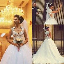 Vestido De Noiva 2015 Gorgeous Princess Long Beaded Lace Saudi Arabic Ball Gown Wedding Dress 2015 Bride Dress Vestido Casamento свадебное платье loveforever vestido noiva 2015 w015