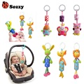 [Sozzy] Hot selling sozzy children's toy mobile Kids's plush toys bed bell bells rattle toy stroller for a newborn