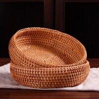 100% handgemaakte houten opslag mand voor tijdschrift opknoping mand