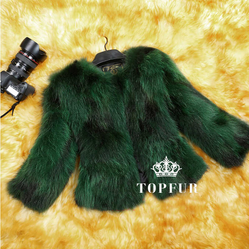 Natürliche Echt Fox Pelz Mantel Echte multi farben Fuchs Pelz weste Mode Fabrik Großhandel Einzelhandel Anpassen Jacke TFP523