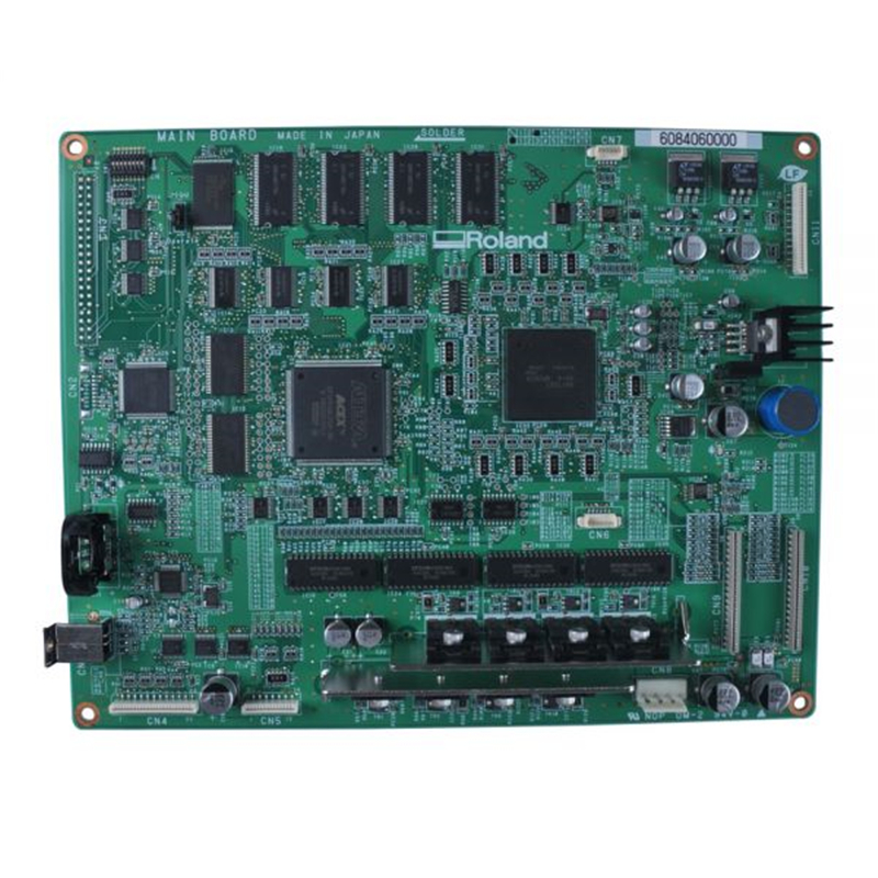 Original Roland SP-300V / SP-300 Main Board-6084060000 / 7840605500 original roland sp 300 sp 300v sp 540v panel board w840605010 printer parts
