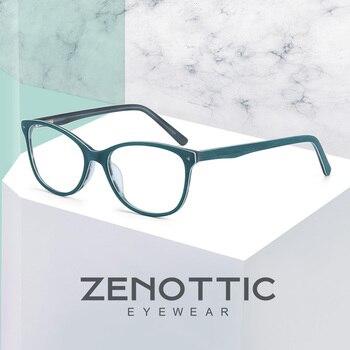7033fd61f8 Monturas De gafas De acetato a la moda para mujer montura De gafas ópticas  para mujer montura De gafas para mujer Lunette De Vue BT4006