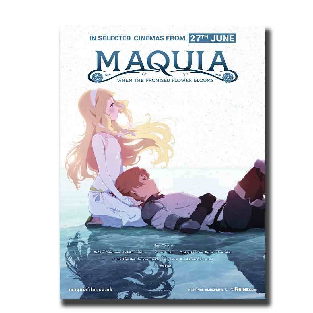 Maquia When The Promised Flower Blooms Japan Anime Poster Custom