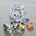 Boys Clothing Sets Children 2 Color suits Cotton Long Sleeve Shirt + Pants 2pcs/sets