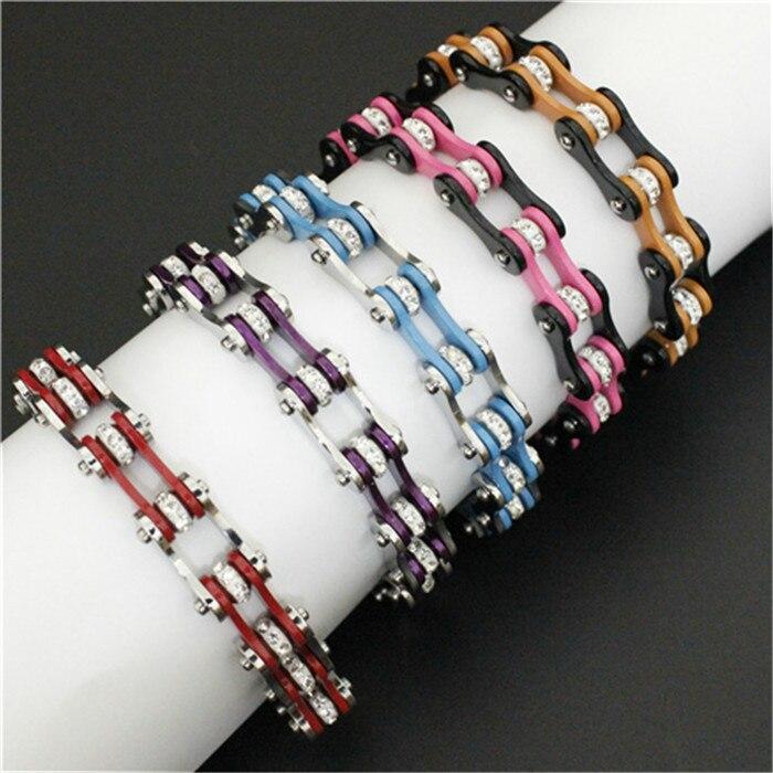 Biker Bracelet 316L Stainless Steel Fashion Jewelry Biker Style Bracelet opk biker stainless steel men bracelet