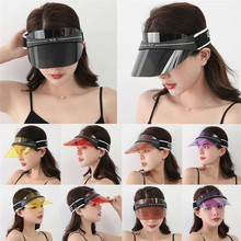 NEW Unisex Adult Anti-UV Sun Visor Hat Outdoor Sports Protection Beach Cap