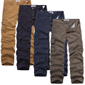 Mens Joggers Brand 2017 Trousers Male Cotton Large Yards Military Overalls Sweatpants Pants Joggers Cotton Pantalones Casual OMG