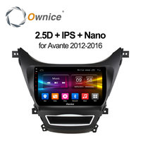 Ownice C500 Android 6 0 Octa Eight Core CAR RADIO PLAYER FOR Hyundai Avante 2012 2013