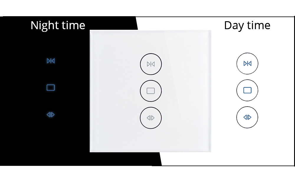 curtain switch work with ALexa Google home-1