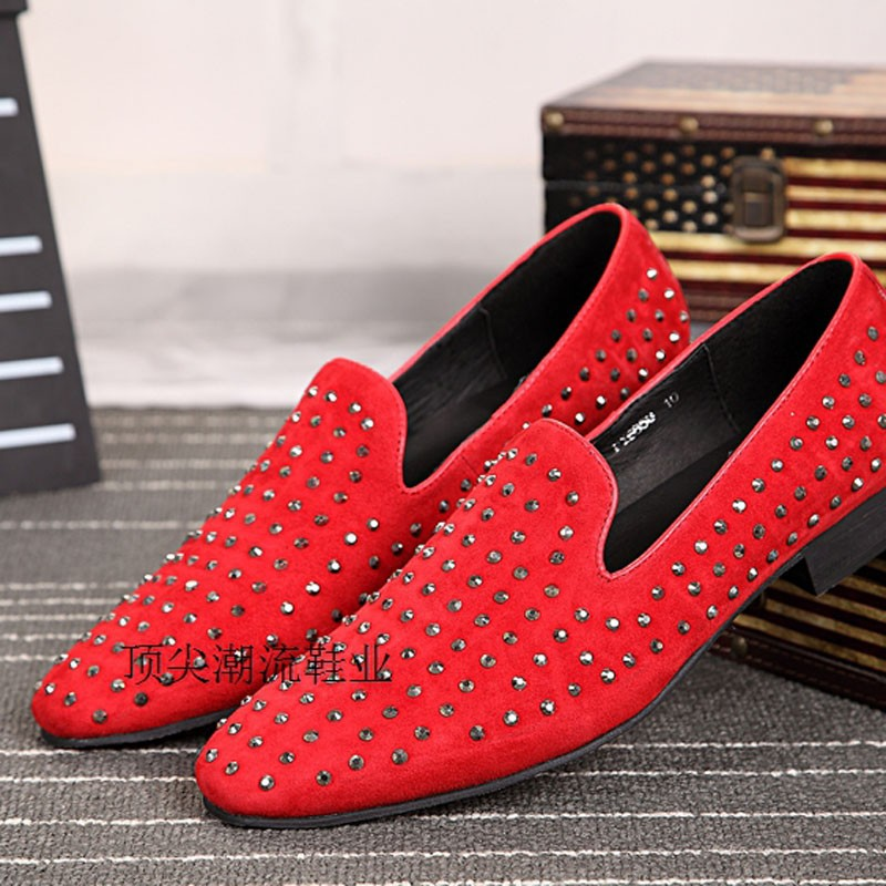 Mens Red Dress Shoes Discount