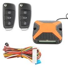 En la Acción! Popular sistema de entrada sin llave a distancia universal auto lock unlock cajuela remoto DC12V salida negativa elevalunas