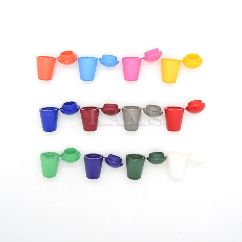 120 шт. цветные пластиковые белл пробка