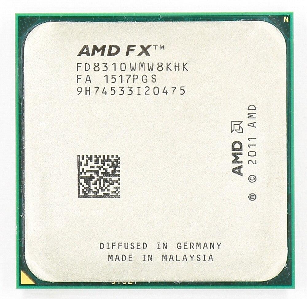 AMD FX 8310 3.4 GHz שמונה ליבות 3.4 גרם/8 M/95 W מעבד Socket AM3 +