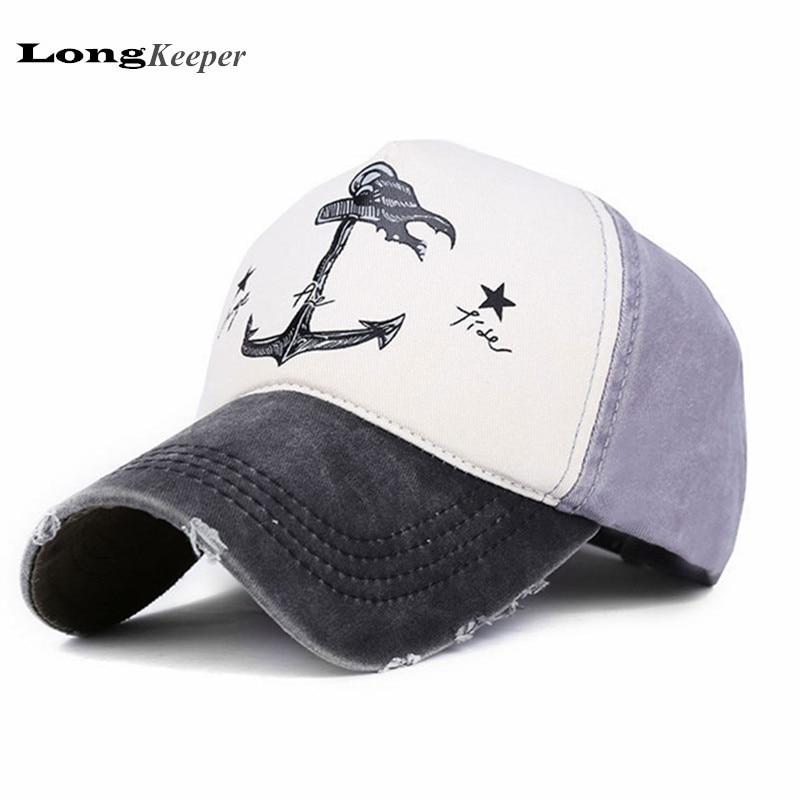 Detail Feedback Questions about LongKeeper Distressed Wearing Baseball Cap  Brand Snapback Caps Men Women Casual Snap back Hats Van Cotton Gorras TG02  on ... d65e8609e0f