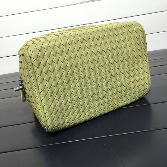 ISHARES sheepskin woven  handbags fashion designer genuine leather zipper totes large capacity lambskin crossbody bags IS323772