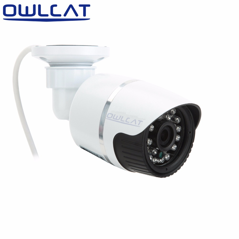 OwlCat IP Camera 720P 960P 1080P Outdoor Bullet Cam IR Lens 3.6mm CCTV Security Camera Network Onvif Android iPhone XMEye View 720p hd ip camera poe onvif 3 6mm lens ir cctv security surveillance camera 1 0mp network dome cameras xmeye app xmeye view