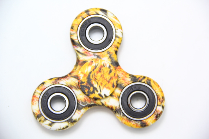 Camouflage Leopard Anti Stress Spinner Hand Fidget EDC Hand Spinner Gyro Toys Remove Anxiety