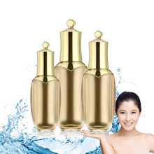 30/50/80ml Gold Crown Empty Sample Pot Bottle Makeup Cosmetic Cream Container