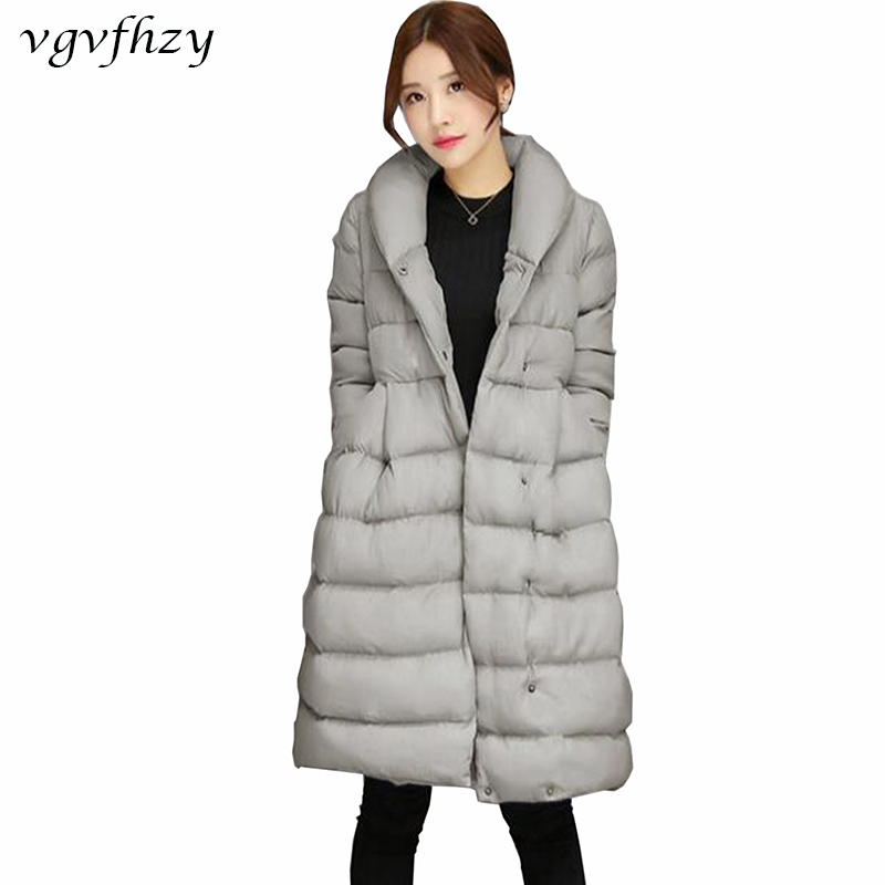2017 Women's Jacket New Medium-Long Down Cotton Parka Plus Size Coat Women Winter Coat Long Women Warm Outerwear LY570 2016 new aarrivals fashional women hoody long style warm winter coat women plus size s xxl free shipping