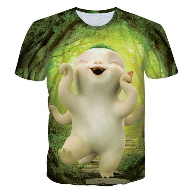 b9db57ef875 Funny 3D Printed T-shirts Movie Cartoon Character Hubal Graphic Tee Shirt  Fashion Men Short Sleeve O-neck Summer Style Camisetas