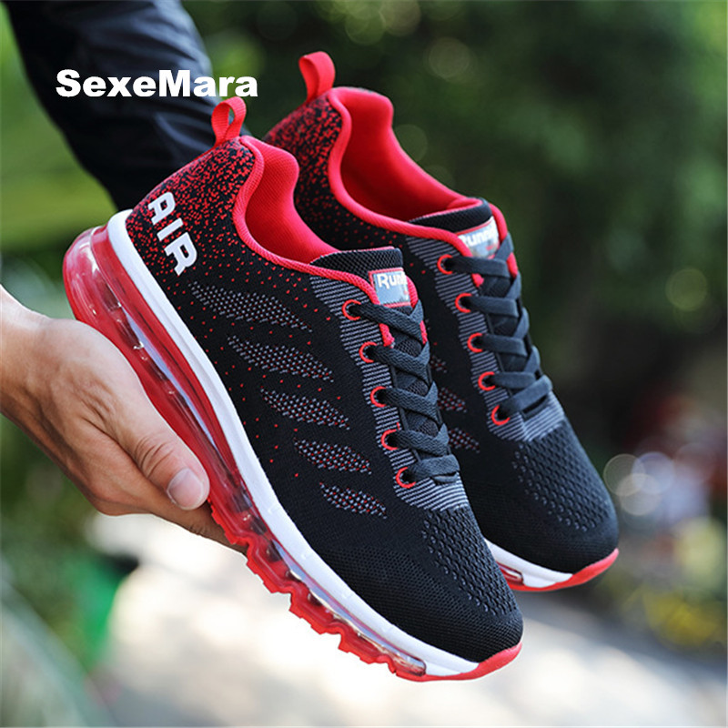 sneakers men Air damping running shoes for women Athletic arena shoes sport shoes woman walk jogging zapatos hombre size 35-44