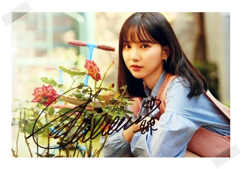 signed  GFRIEND Eun Ha  Jung Eun Bi autographed photo  6 inches freeshipping 11201702 signed cnblue jung yong hwa autographed photo do disturb 4 6 inches freeshipping 072017 01