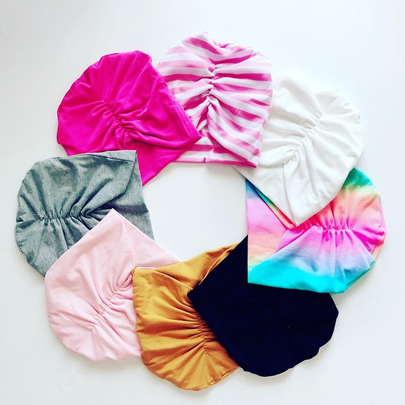 Fashion Baby Cap Elastic Cotton  Beanie Hats For  Boy Girls Turban Spring Autumn Winter Headwear