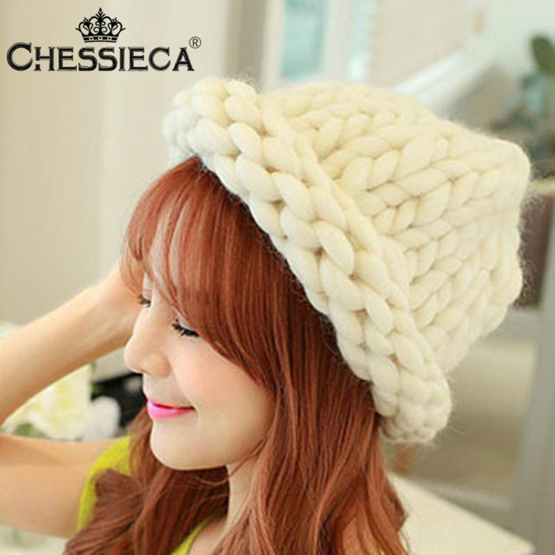 Christmas New Fashion Version Knitting Wool Skullies Caps Woman Shag Line Warm Winter Hats Multicolor Beanies For Women Girls skullies beanies winter woman fashion knitting hats with pompom beanies girls warm letter b cap