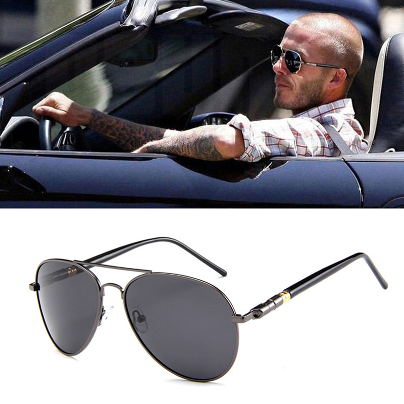 1d7888b454 Detail Feedback Questions about Xinfeite Sunglasses New Fashion Metal frame  Pilot Polarized UV400 Outdoor Drive Fishing Men s Sun Glasses X398 on ...
