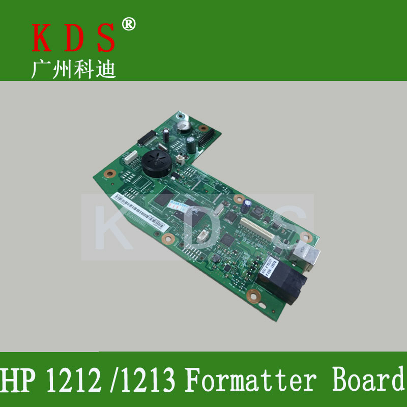 1 pcs/lot printer spare parts Formatter Board for HP 1212 1213 1216 Mother Board laserjet parts Main board in china