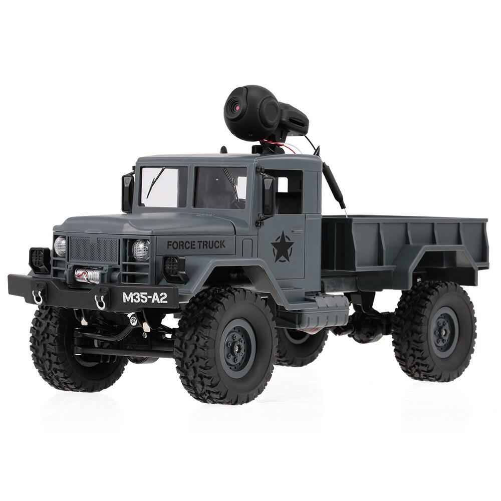 ヘッドライト軍用トラックオフロード カークローラ カメラ車 Wifi