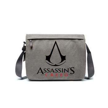 Сумки почтальонки в ассортименте Assassins Creed, Доктор Кто, тоторо и др.
