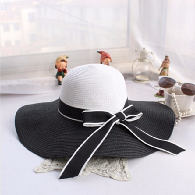 Beautiful Women Straw Beach Hat