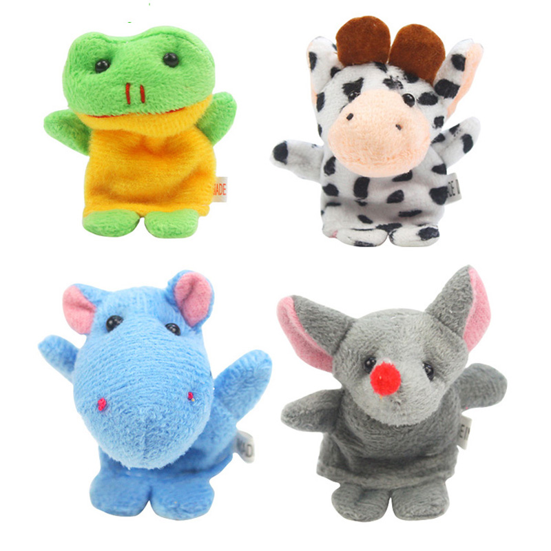 10PCS-Cute-Cartoon-Biological-Animal-Finger-Puppet-Plush-Toys-Child-Baby-Favor-Dolls-Tell-Story-Props-Animal-Doll-Kids-Toys-4