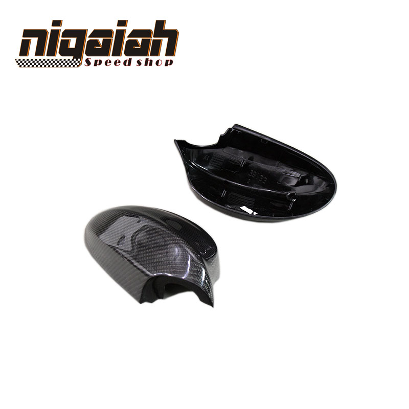 For BMW E90 3 Seires 320 320i 2005 2006 2007 2008 3D sticker Style Carbon Fiber Side Mirror Carbon replacement