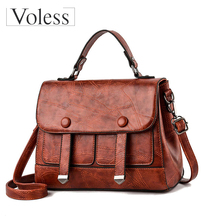 New Famous Brand PU Leather Bag Crossbody Bags for Women 2019 High Quality Tote Shouler Bag Luxury Handbags Women Bags Designer цена в Москве и Питере