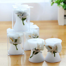 Candle Souvenir Gifts Wedding Party Flower 20pcs for Birthday Lily