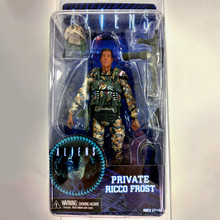 18 cm NECA Aliens Action Figure Ricco Vorst Prive Figuur Speelgoed Met Wapen Helm Alien VS. Predator AVP Model Pop(China)