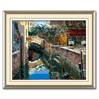 MaHuaf A926 Max Size 60x75cm Frameless DIY Oil Painting By Numbers DIY Digital Oil Painting On