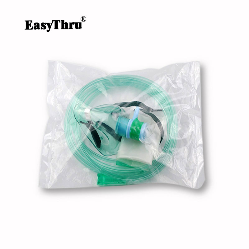 Emergency Rebreathing Face Mask High Oxygen Concentration Reservoir Bag Emergency Rescue Mask High Quality 1pcs