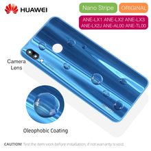 100% Original Back Cover For Huawei P20 Lite Battery Back Cover Replacement For Huawei Nova 3E Housing Case with Camera Lens(China)
