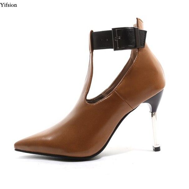 Olomm nouveauté femmes printemps pompes Sexy mince talons hauts pompes Nice bout pointu dames parti bureau chaussures femmes taille américaine 3-16