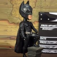 NECA Series Dark Knight Rise Big Head Shaking Q Edition DC Batman Doll Model Action Figure Car Decoration S161