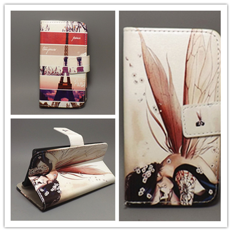 Butterfly Flower Flag Designer Wallet Flip Stand Book Cover Case FOR LG GOOGLE NEXUS 4 E960 free shpping - case store